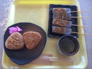 箱根で昼食