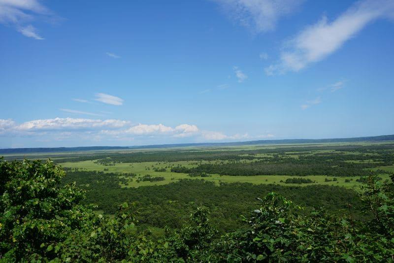 北斗展望台から見る釧路湿原
