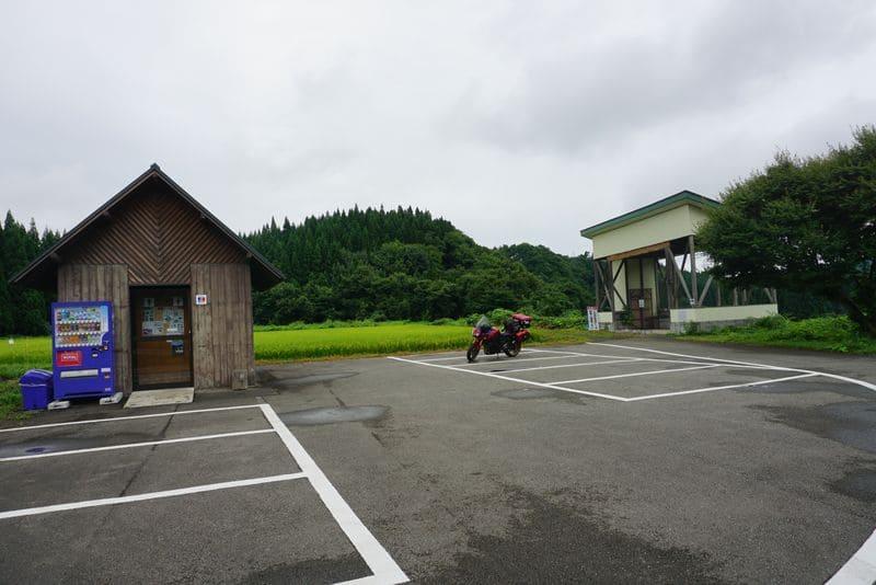 小杉の大杉、トトロの木の駐車場