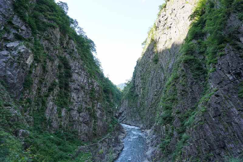 清津峡渓谷