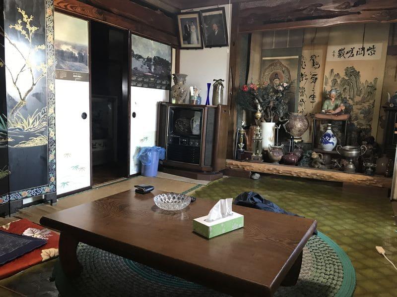 呉竹荘の部屋