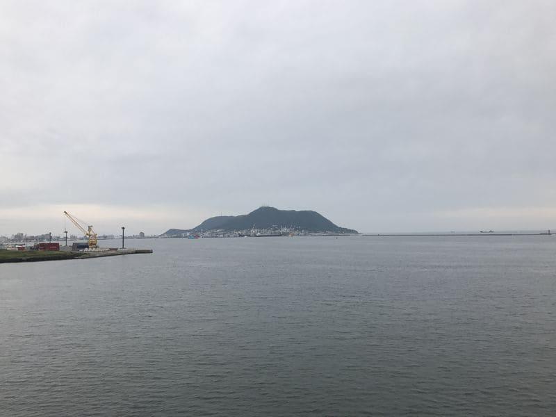 津軽海峡フェリーからの眺め
