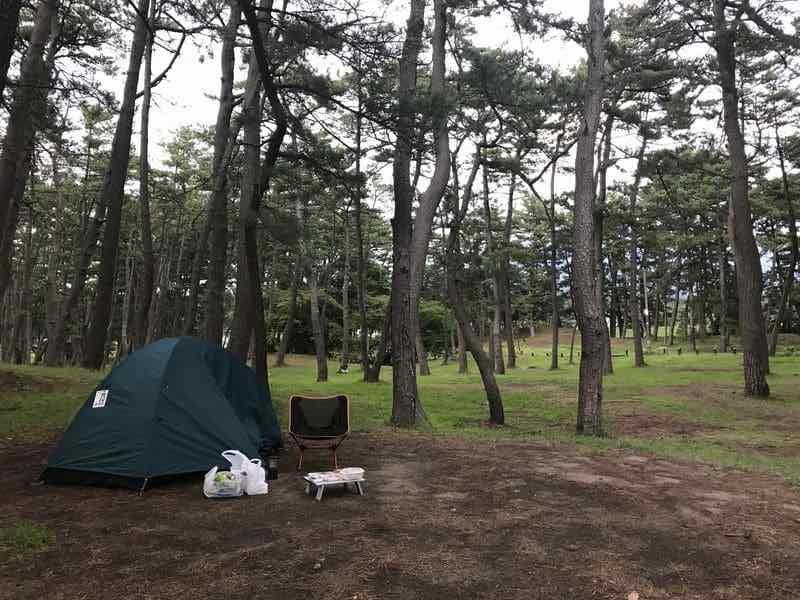 西浜キャンプ場