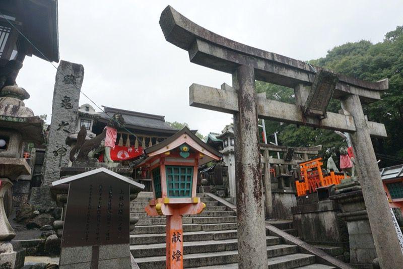 稲荷山山頂の神社