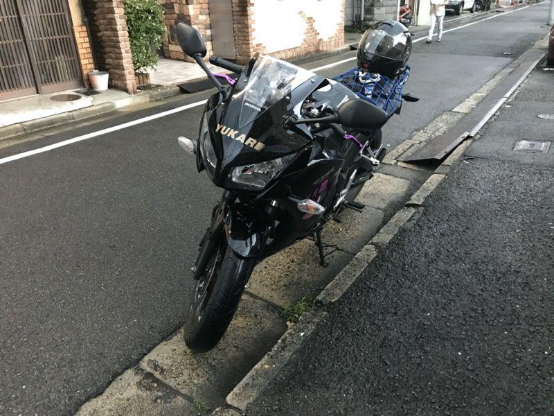 くろさんのバイク