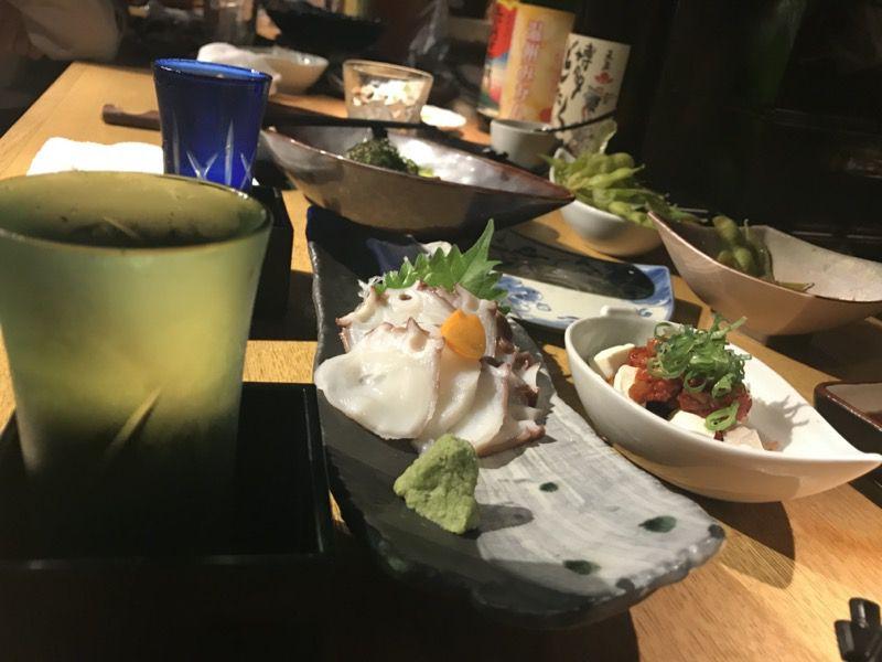 居酒屋で夕飯