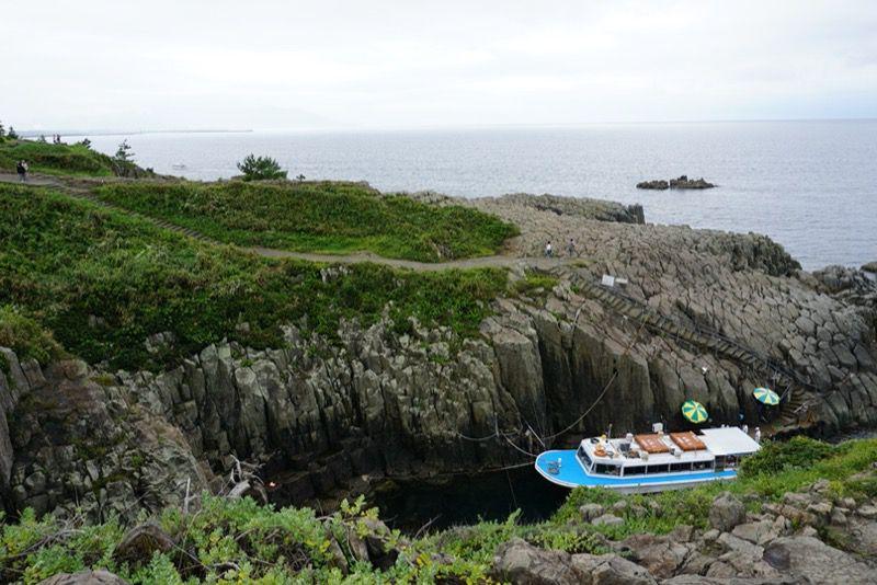 東尋坊の観光船