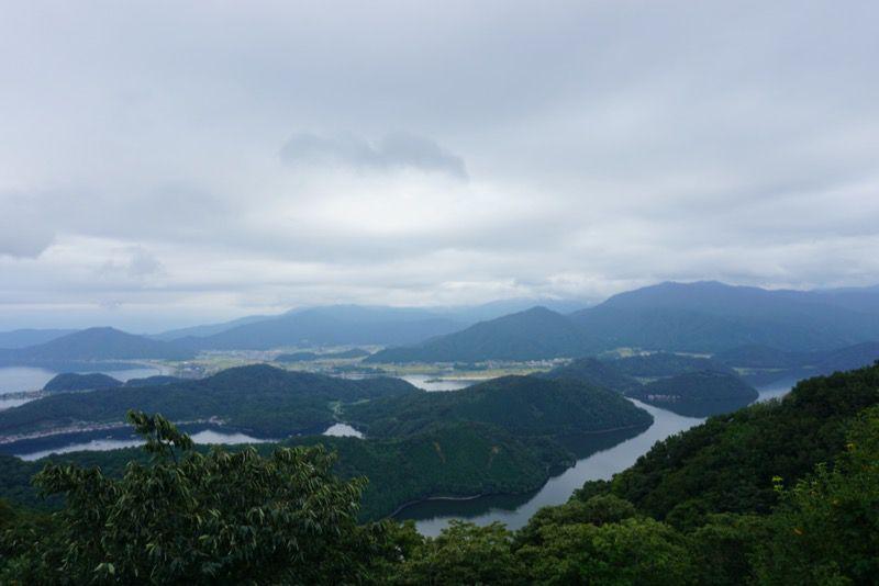 三方五湖の景色