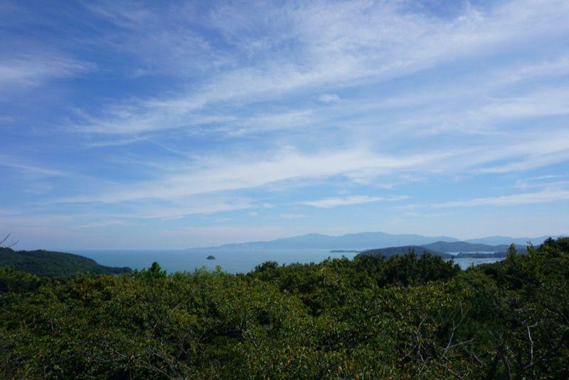 岡山ブルーラインからの景色