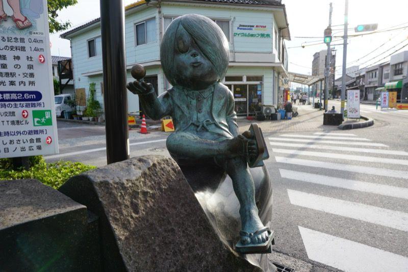 鬼太郎の銅像