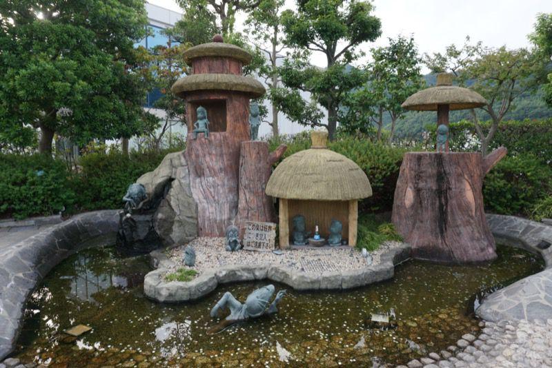 妖怪のいる池